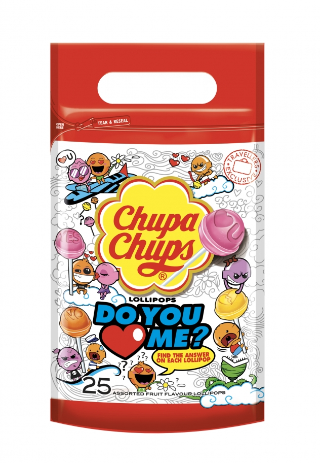 Chupa Chups Do You Love Me Pouch Bag
