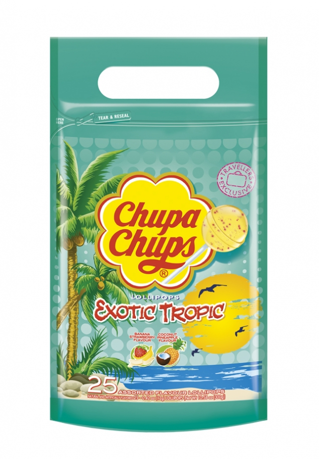 Chupa Chups Pouch Bag Exotic Tropic