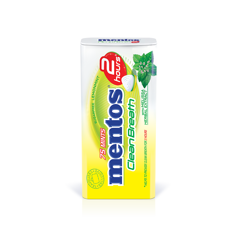 Mentos Clean Breath Lemon Mint Melissa