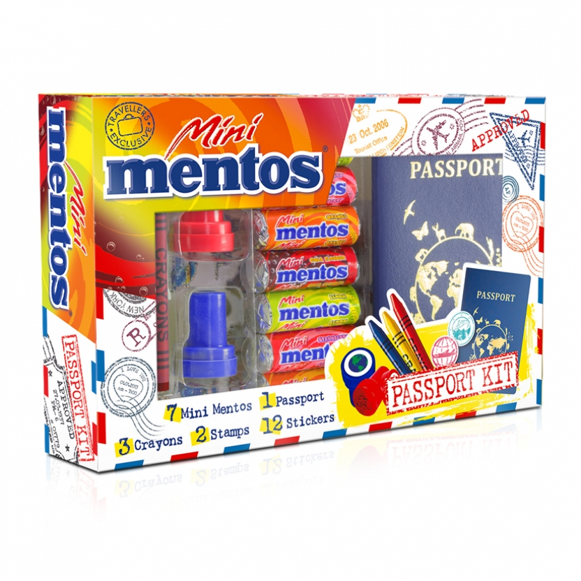 Mentos Mini Passport Kit