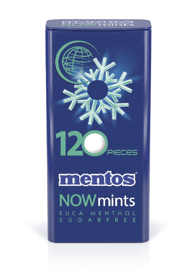 Mentos Now Mints Euca Menthol Tin