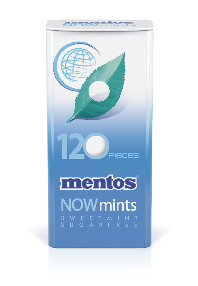Mentos Now Mints Sweet Mint Tin