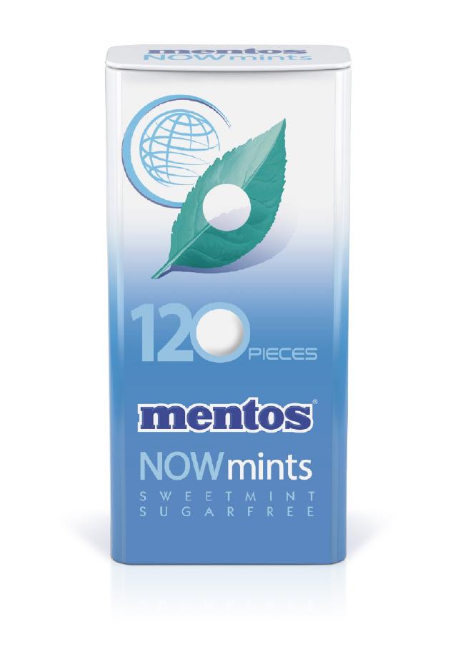 Mentos Now Mints Sweet Mint Tin
