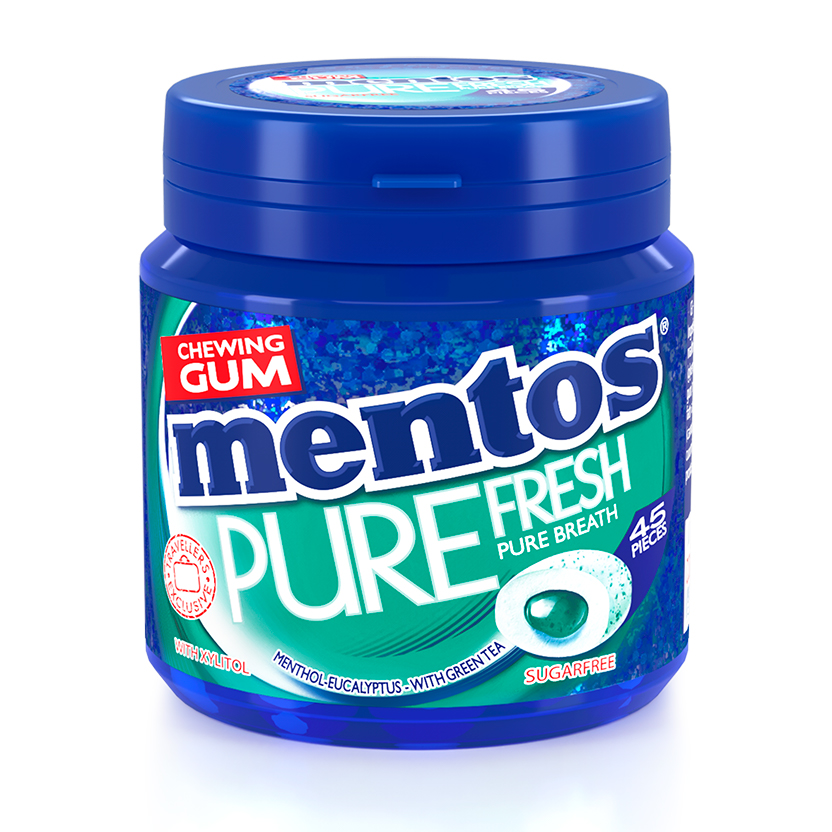 Mentos Gum Pure Fresh Euca Mint