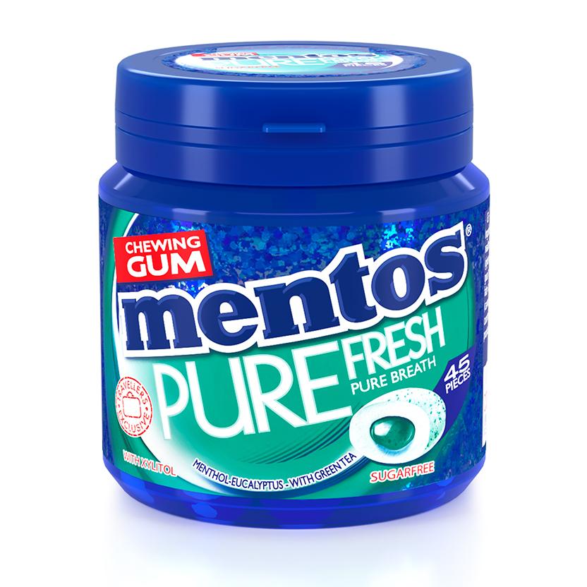 Mentos Gum Pure Fresh Euca Mint