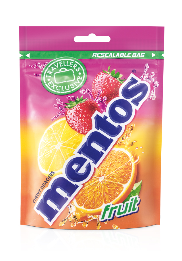 Mentos Pouch Bag Fruit