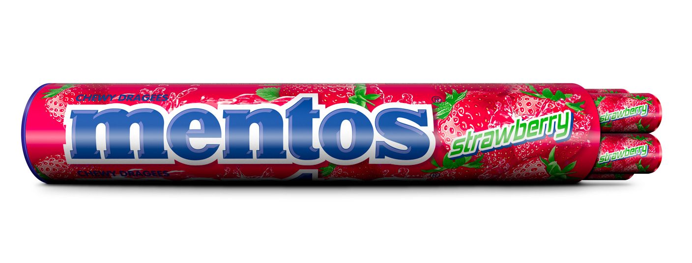 Mentos Jumboroll Strawberry